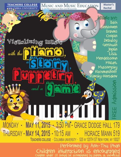 Poster - NYC recital
