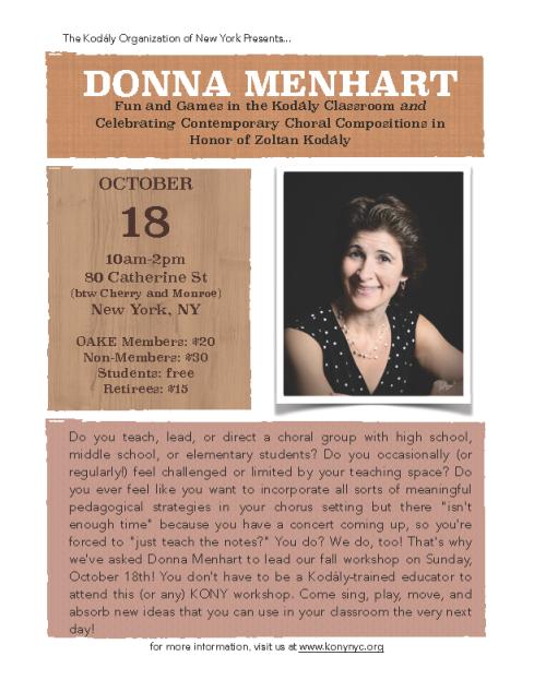 Donna Menhart