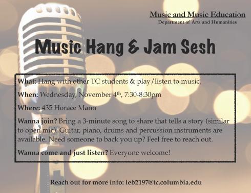 Music Hang & Jam Sesh